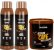 Glatten Professional - Bomba de Café Estimulante Shampoo 500ml + Condicionado 500ml + Máscara 1kg  - Imagem 1