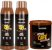 Glatten Professional - Bomba de Café Estimulante Shampoo 500ml + Condicionado 500ml + Máscara 240g  - Imagem 1