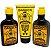Barba Forte - Danger Kit Shampoo Bomba,Condicionador e Bálsamo Hidratante Beard Balm 3x170g  - Imagem 1