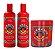 Portier - Fermento Capilar Kit Shampoo + Condicionador + Máscara 3x500g  - Imagem 1