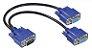 CABO Y VGA RGB LIGAR UM COMPUTADOR EM DOIS MONITORES - Imagem 1
