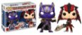 Bonecos Funko Pop Brasil - Marvel vs Capcom - Black Panther vs Monster Hunter - Imagem 1