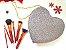 Heart In Luv - glitter prata - Imagem 1