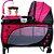 Berço Balanço com Trocador e Mobile Rosa - Baby Style  - Imagem 1