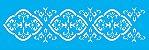 ESTENCIL 10X30 BORDER COLONIAL OPA725 - Imagem 1
