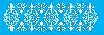 ESTENCIL 10X30 ESTAMPARIA COLONIAL III OPA2001 - Imagem 1