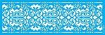 ESTENCIL 10X30 ESTAMPARIA COLONIAL IV OPA2912 - Imagem 1