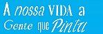 ESTENCIL 10X30 FRASE A NOSSA VIDA OPA2155 - Imagem 1