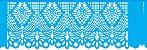 ESTENCIL 10X30 NEGATIVO RENDA V OPA2619 - Imagem 1