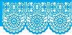 ESTENCIL 10X30 NEGATIVO RENDA VI OPA2681 - Imagem 1
