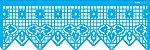 ESTENCIL 10X30 NEGATIVO RENDA VIII OPA2683 - Imagem 1