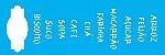 ESTENCIL 10X30 PALAVRAS ALIMENTOS OPA1473 - Imagem 1