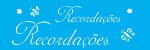 ESTENCIL 10X30 PALAVRAS RECORDACOES OPA1357 - Imagem 1