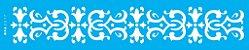 ESTENCIL 6X30 ARABESCO MEDIEVAL II OPA2317 - Imagem 1