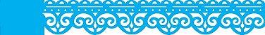 ESTENCIL 4X30 ARABESCO BORDADO OPA1921 - Imagem 1