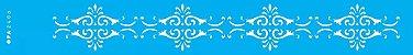 ESTENCIL 4X30 ARABESCO COLONIAL OPA2406 - Imagem 1