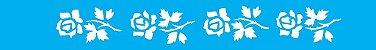 ESTENCIL 4X30 FLORES ROSAS OPA188 - Imagem 1