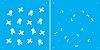 ESTENCIL 14X14 DUPLO MICRO CAVEIRAS OPA1171 - Imagem 1