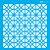 ESTENCIL 14X14 ESTAMPARIA VITRAL OPA2335 - Imagem 1