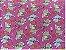 TECIDO TRICOLINE COLECAO BEBE GATO FUNDO PINK 0,50 X 1,50 MTS - Imagem 1