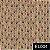 TECIDO TRICOLINE DIGITAL FUXICOS E FRICOTES REF EL004 0,50X1,50 100% ALGODÃO - Imagem 1