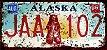 Placa Decorativa Alaska 15x30 - Imagem 1