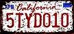 Placa Decorativa California 15x30 - Imagem 1