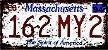 Placa Decorativa Massachusetts - Imagem 1