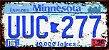 Placa Decorativa Minnesota 15x30 - Imagem 1