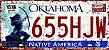 Placa Decorativa Oklahoma 15x30 - Imagem 1