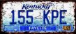 Placa Decorativa Kentucky 15x30 - Imagem 1