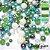 Blend mix de contas cristais perolas e bolas 1º linha  - Imagem 6