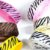 Fita gorgurão nº03 15mm estampa zebra 10 mts - Imagem 2