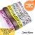 Kit Fita gorgurão nº03 15mm estampa zebra 06 cores 60mts  - Imagem 2