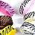 Kit Fita gorgurão nº03 15mm estampa zebra 06 cores 60mts  - Imagem 10