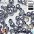 Mix de pedrarias para bordar tiaras Pérolas cristais contas ABS 1º linha Unique  - Imagem 8