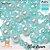 Mix de pedrarias para bordar tiaras Pérolas cristais contas ABS 1º linha Unique  - Imagem 5