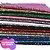 Lonita Flocada Super Glitter  24x40cm tecido Glitter para laços chinelos bolsas - Imagem 2