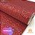 Lonita Telada Flocada  24x40cm tecido Glitter para laços chinelos bolsas - Imagem 4