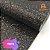 Lonita Telada Flocada  24x40cm tecido Glitter para laços chinelos bolsas - Imagem 5