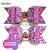 Lonita Telada Flocada  24x40cm tecido Glitter para laços chinelos bolsas - Imagem 6