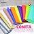 Lonita de silicone fluorescente Neon  para laços piscina 24x40 cm columbia cores - Imagem 1