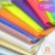 Lonita de silicone fluorescente Neon  para laços piscina 24x40 cm columbia cores - Imagem 2