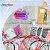 Kit Fabrica de tiaras iniciante  jogo completo tiaras linha agulhas e pedrarias - Imagem 9