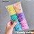 Elástico para cabelo Xuxinha rabicó tamanho médio Pct 100unidades Candy Neon - Imagem 9