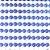 Meia Pérola Sticker ABS 6mm em cartela autocolante Shine Beads® - Imagem 2