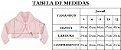 Casaco Infantil de Pele Redonda c/ Bordado Rose - Imagem 2