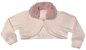 Vestido Infantil c/ Frufru na Cintura com Casaco Gola de Pelo - Imagem 3