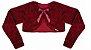 Vestido Infantil Casual Flores/Xadrez com Casaco de Pelo - Imagem 3