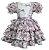 Vestido Infantil Junino Laços - Imagem 1